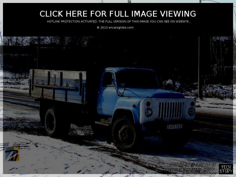 GAZ 53-12: Photo gallery, complete information about model ...