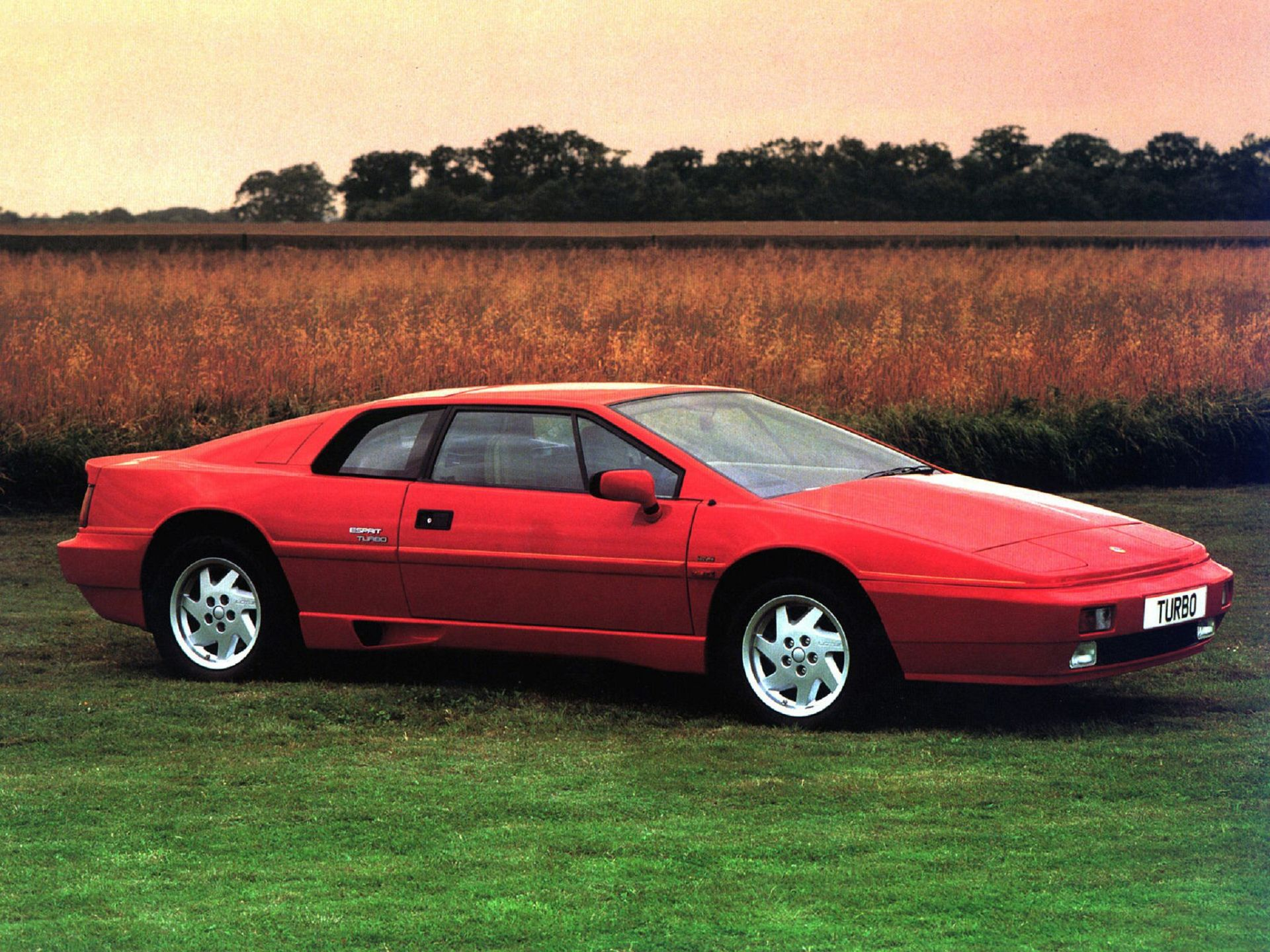 1980, Old, Red, Lotus Esprit, Turbo | My walls