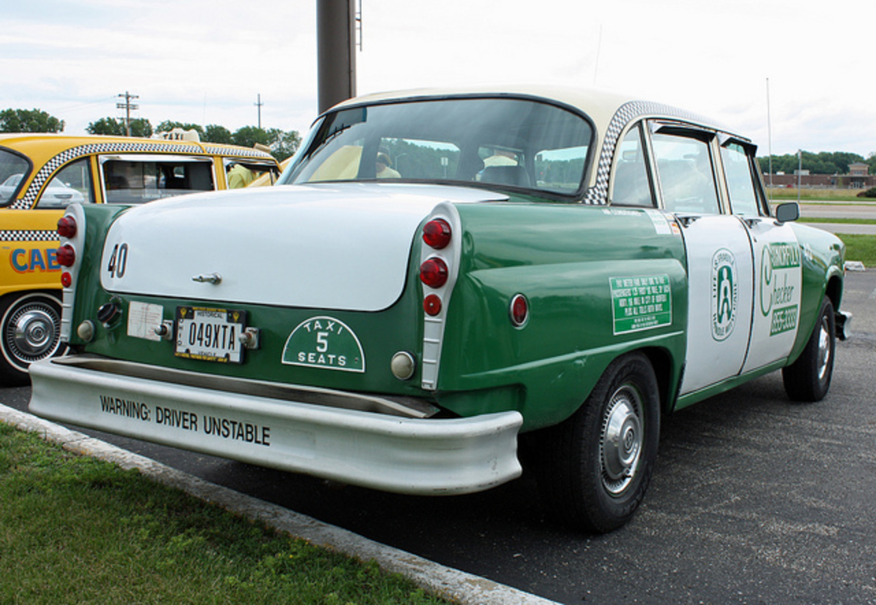 1981 Checker A11 Taxi (7 of 8) | Flickr - Photo Sharing!