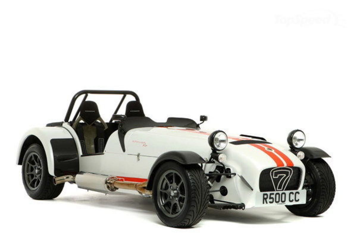 Caterham Seven - Top Speed