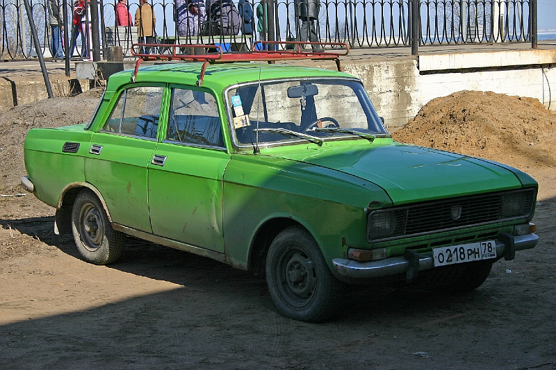Russian Moskvitch 2140 412 front