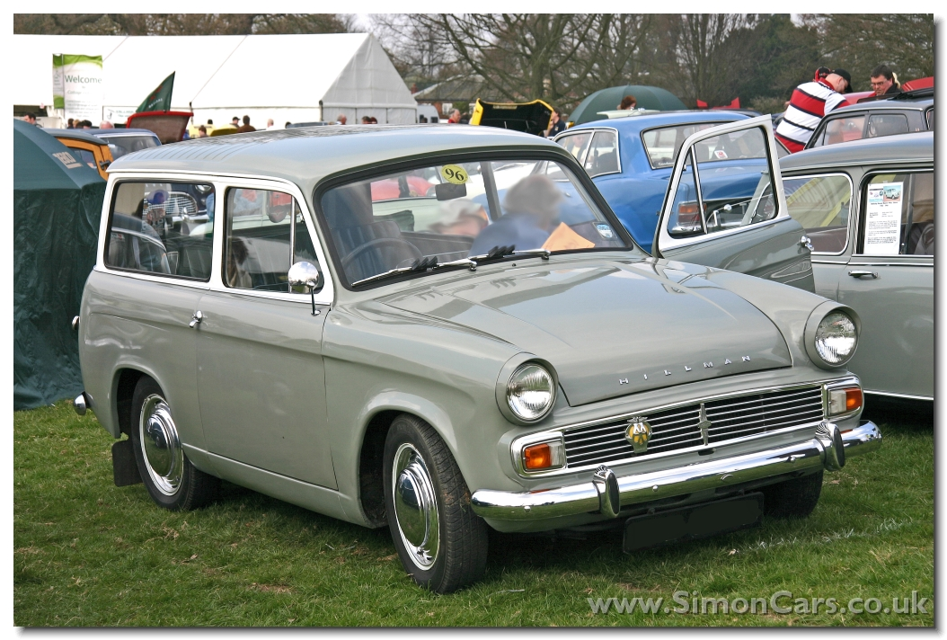 Simon Cars - Hillman Husky - British hatchback from the 1950s