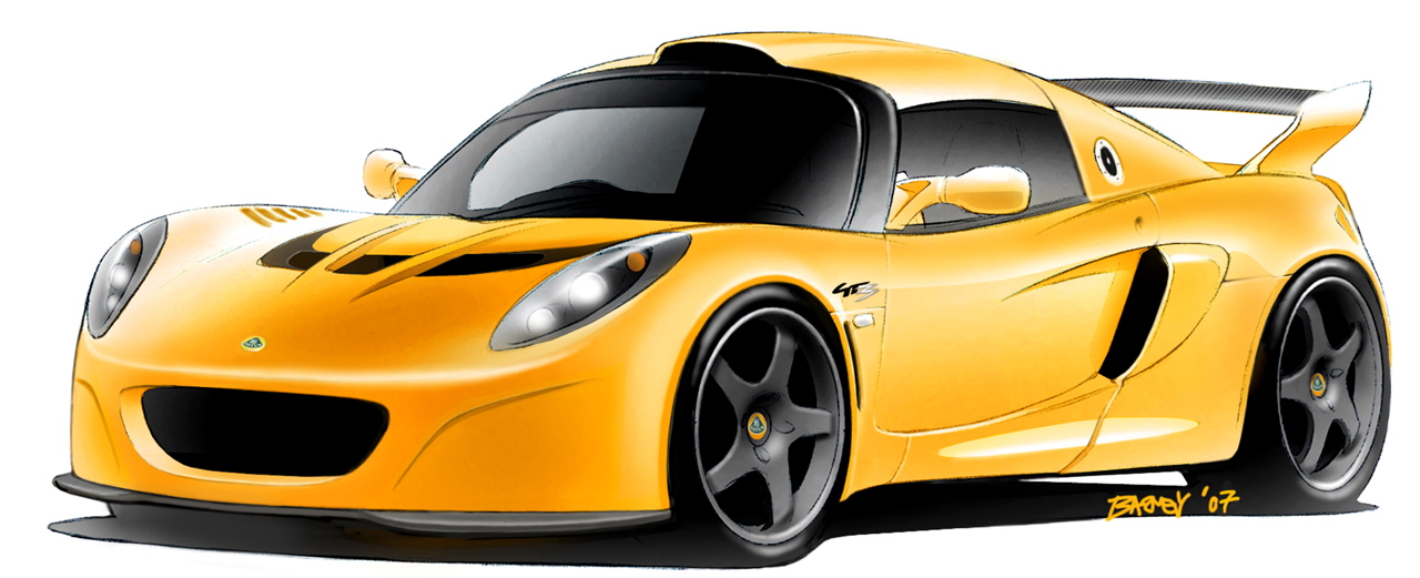Lotus Exige GT3 concept Photo Gallery - Autoblog