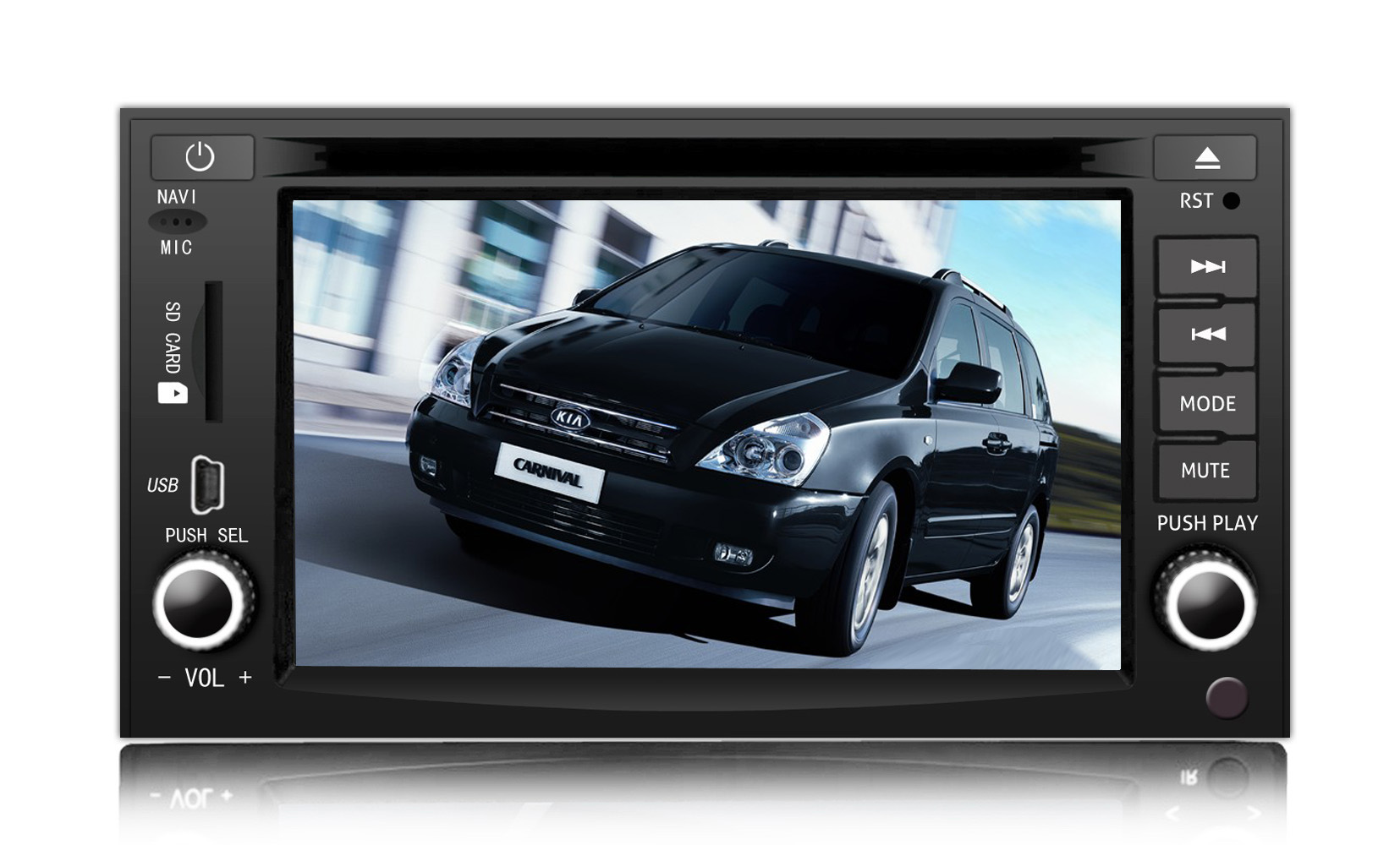 China Car DVD With GPS for KIA Carnival - large image for Car Dvd