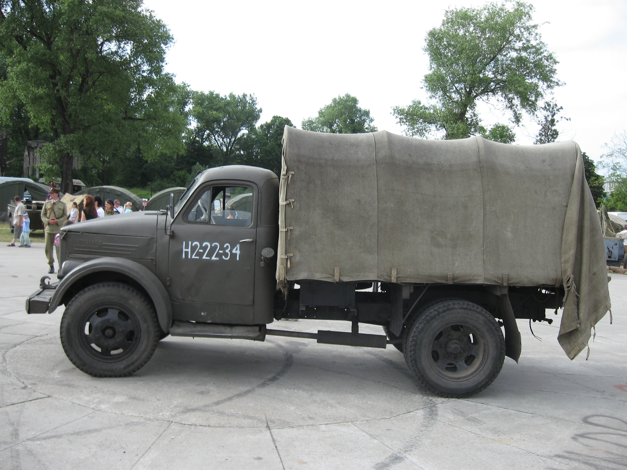 File:GAZ-51 during the VII Aircraft Picnic in Kraków (1).jpg ...