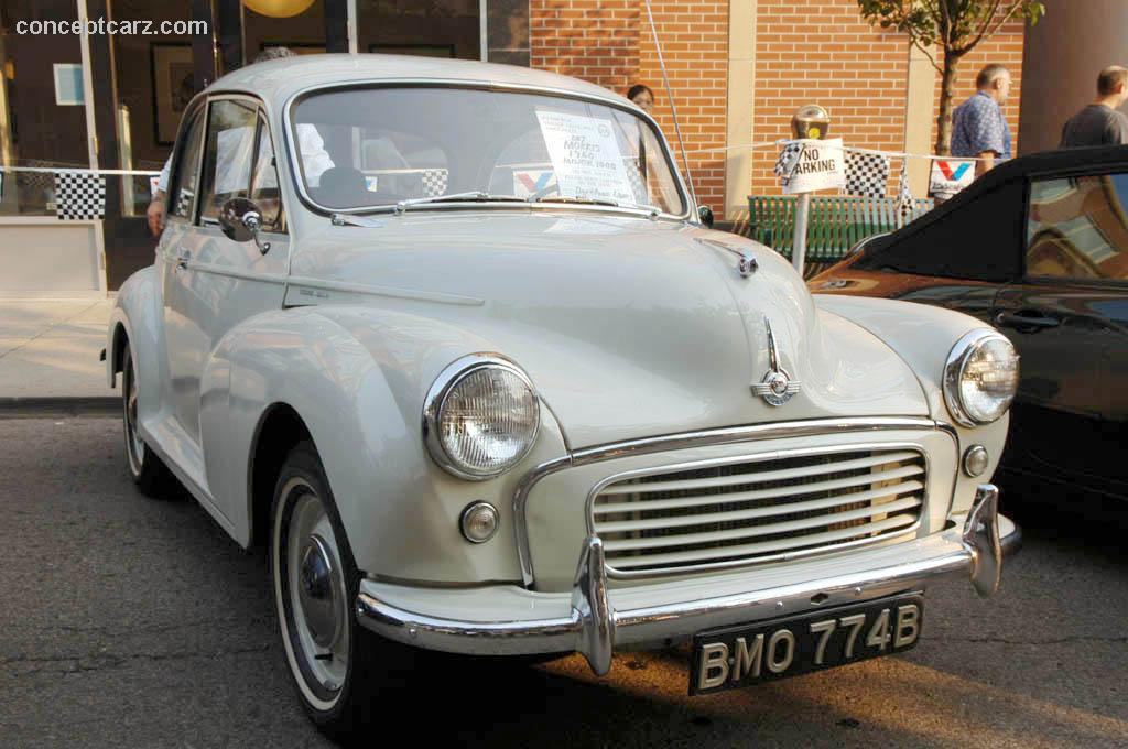 1960 Morris Minor 1000 Images, Information and History (Traveller ...