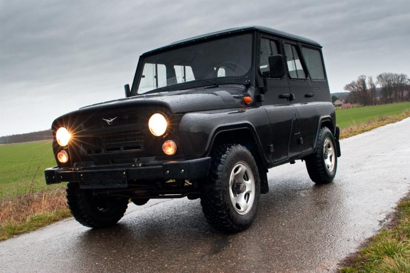 UAZ Hunter photogallery | Made in Russia