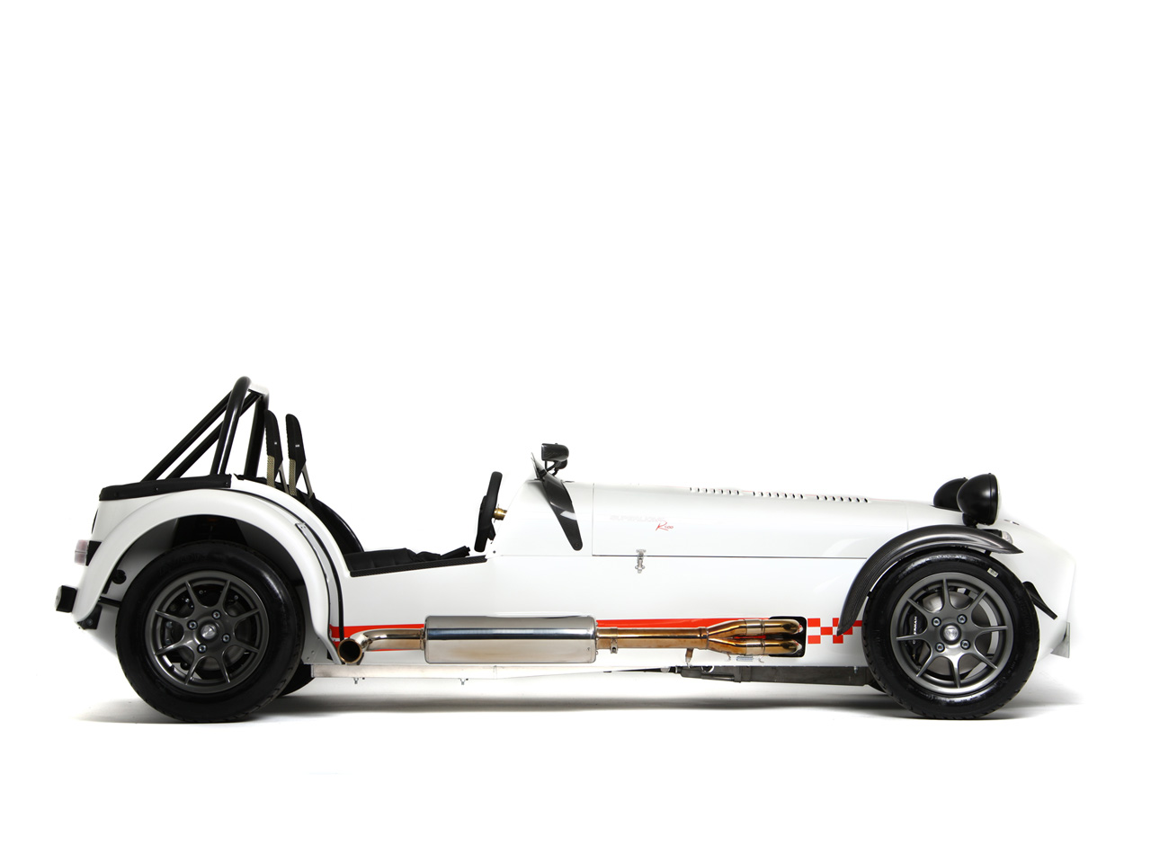 2008 Caterham Seven Superlight R500 - Side - 1280x960 - Wallpaper