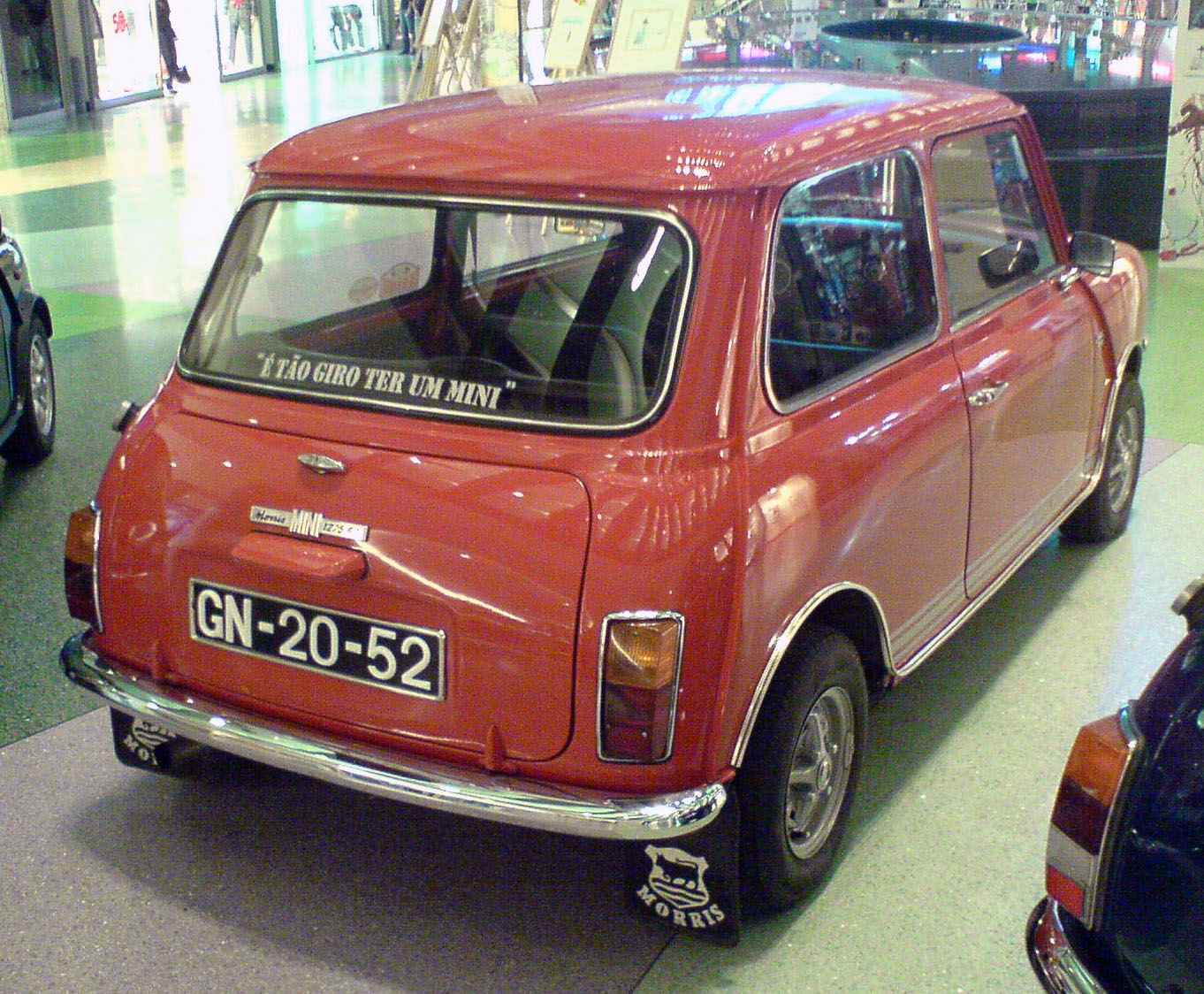 File:Mini 1275 GT, rear.jpg - Wikimedia Commons