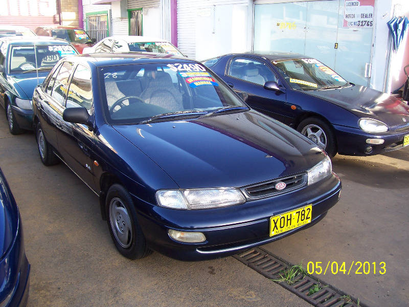 1997 Kia Mentor 5 door Hatchback 1 year warranty | Cars, Vans ...