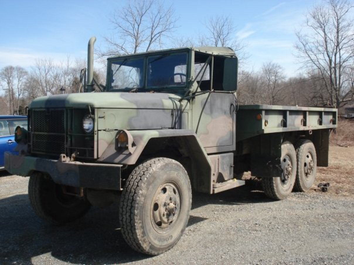 "Thought on M35A2 AM General ""Deuce and a Half"", 2 1/2 ton Cargo ..."