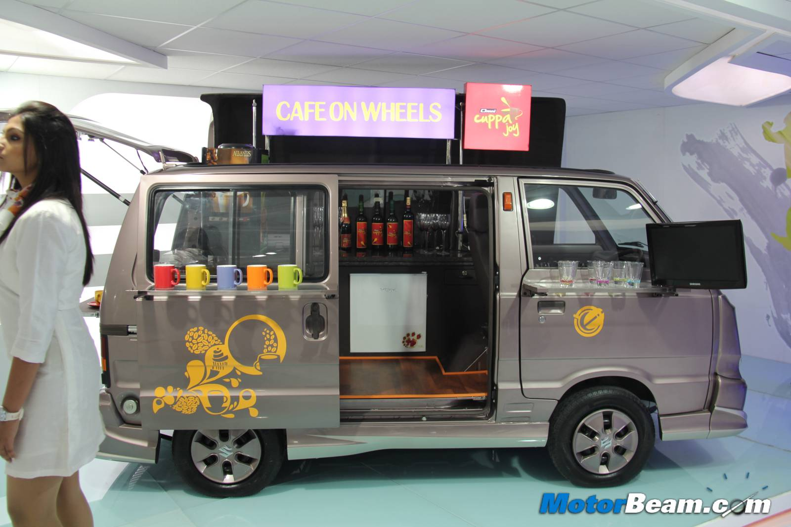 Maruti Omni Cuppa – Pictures and Details