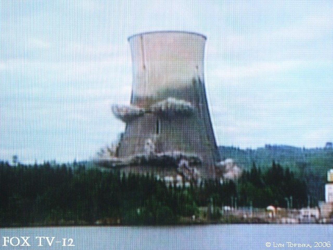 The Columbia River - Trojan Nuclear Facility, Rainier, Oregon