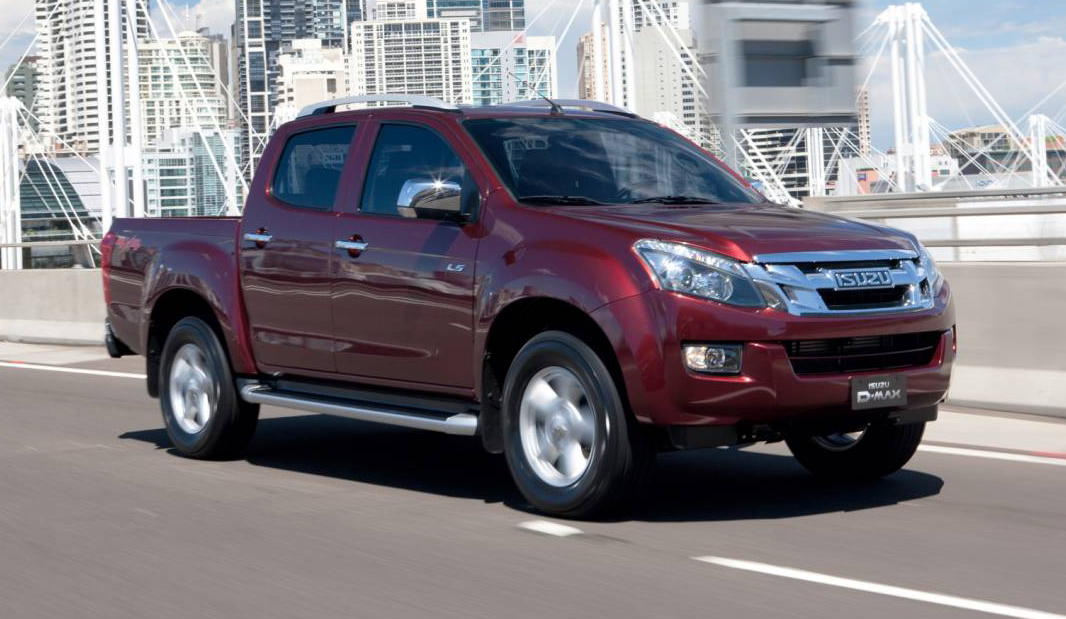 2012 Isuzu D-Max Review | LS-U And SX Crew-Cab And Space Cab Ute ...
