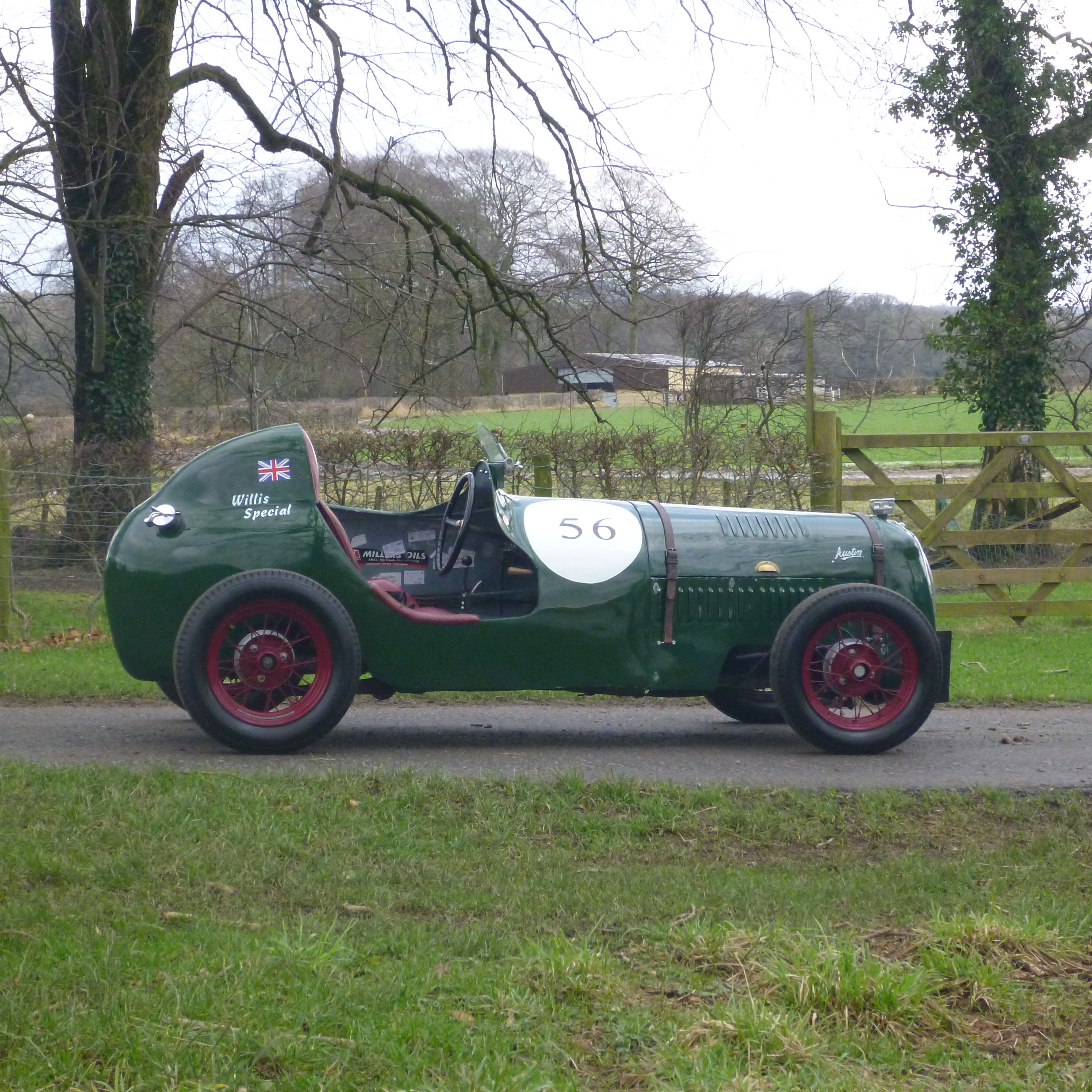 Willis special Supercharged Austin 7 single seater Green, for sale ...