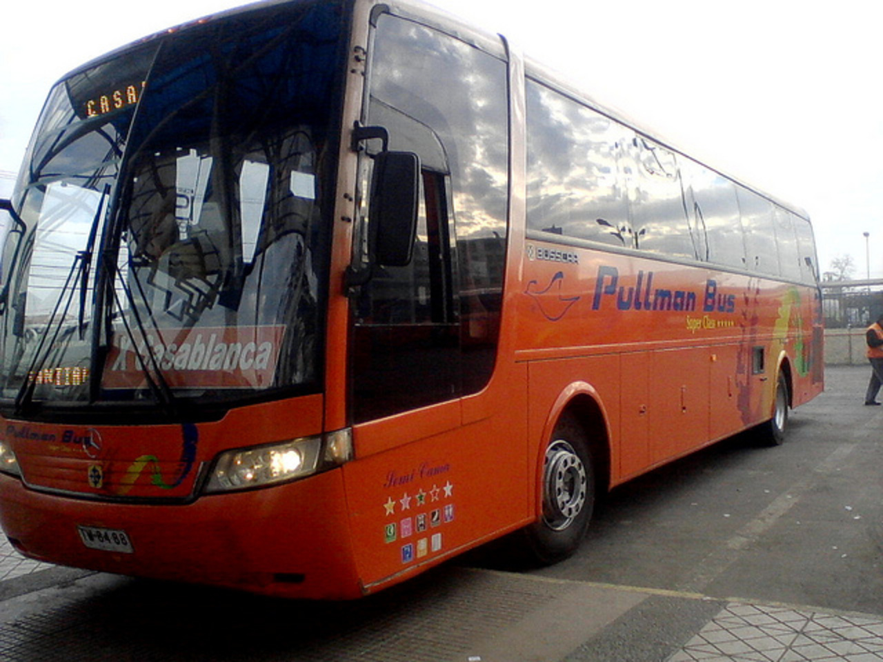 Busscar Vista Buss Lo - Pullman Bus Casablanca | Flickr - Photo ...