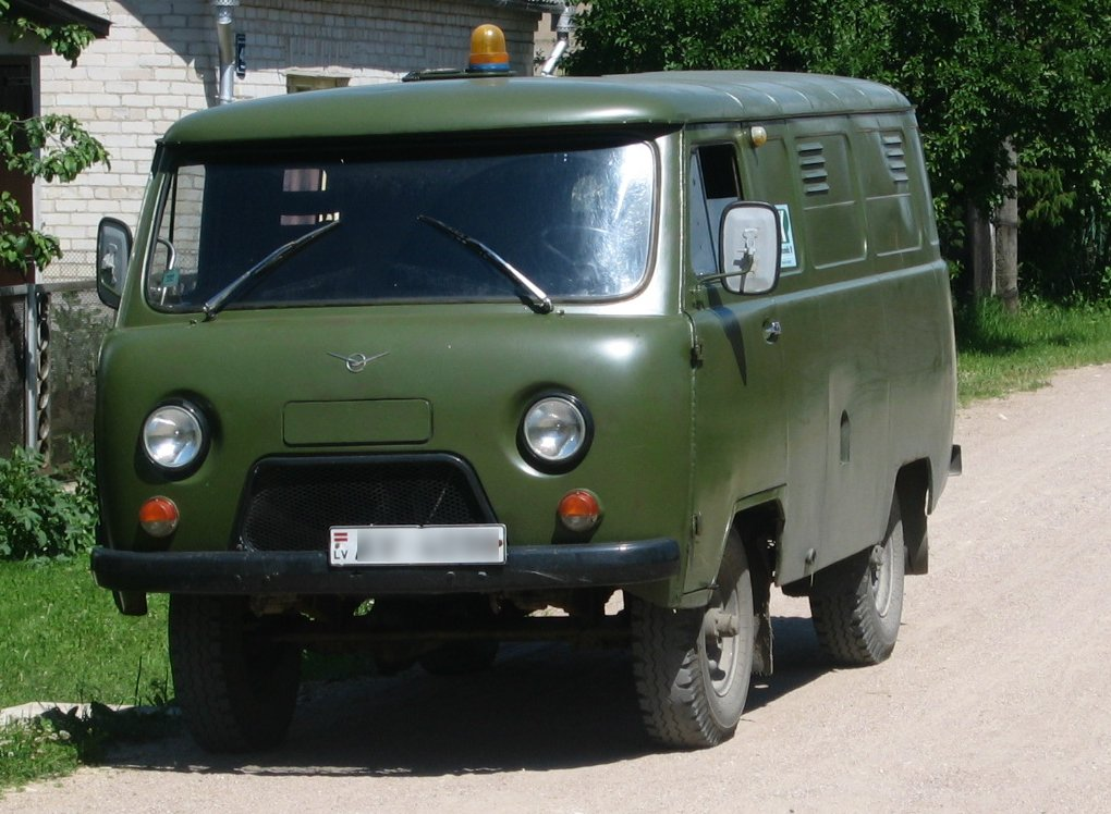 UAZ-452 - Tractor & Construction Plant Wiki - The classic vehicle ...