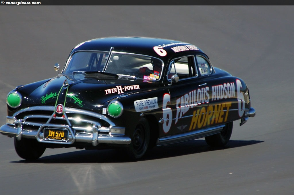 1951 Hudson Hornet Series 7A at the Monterey Historic Automobile ...