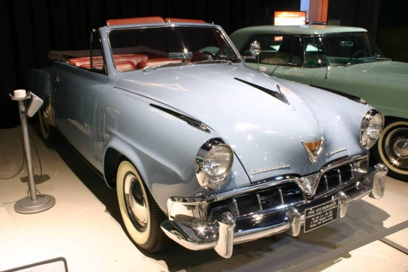 1952 Studebaker Commander Convertible - Remarkable Vehicles