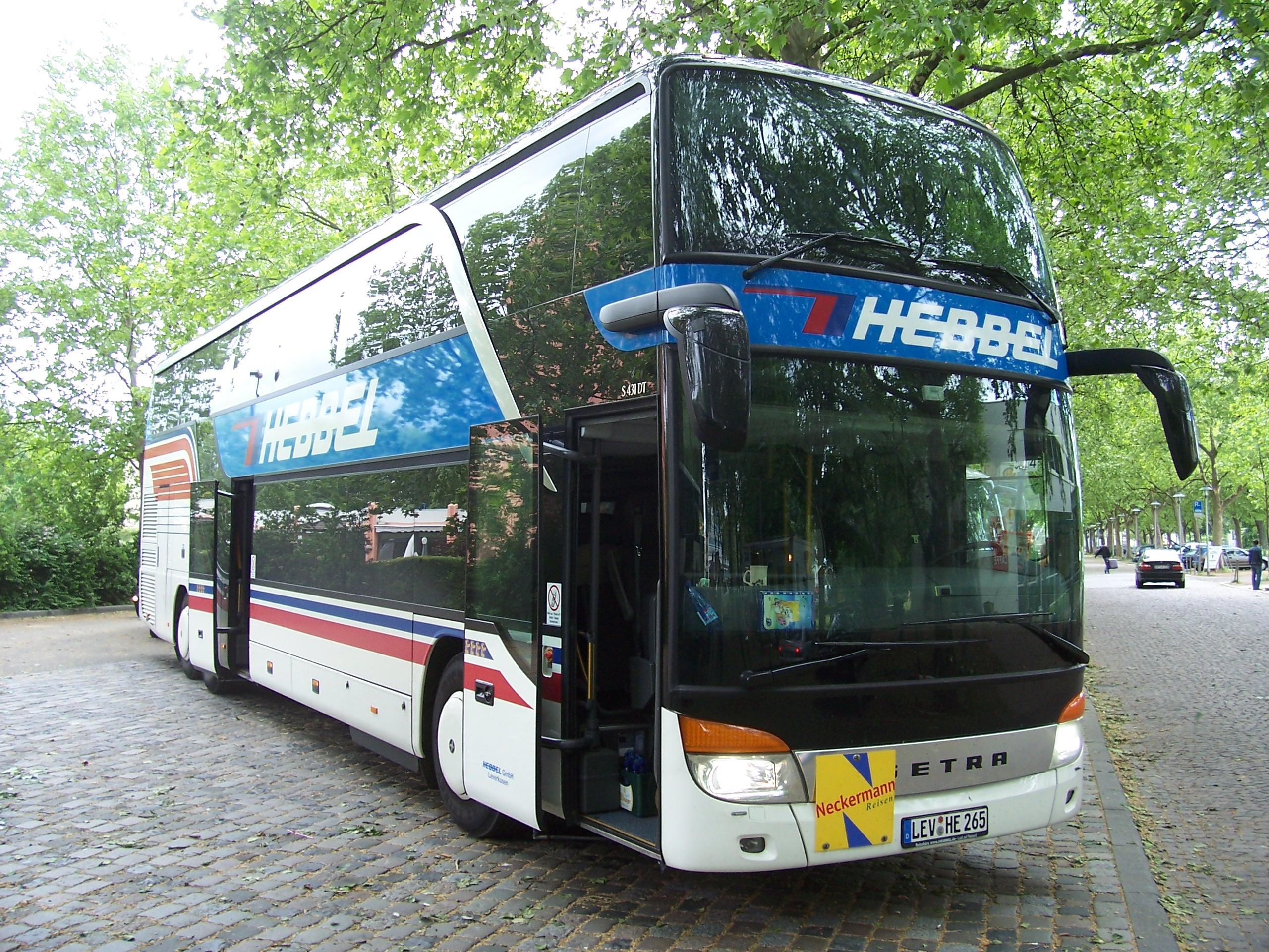 File:Setra S 431 DT Mannheim 100 5554.jpg - Wikimedia Commons
