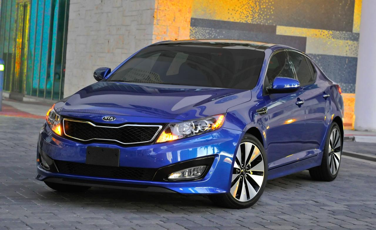 2011 Kia Optima SX Turbo - Photo Gallery of Short Take Road Test ...