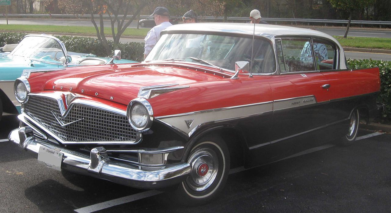 File:1957 Hudson Hornet Hollywood 2-door.jpg - Wikimedia Commons