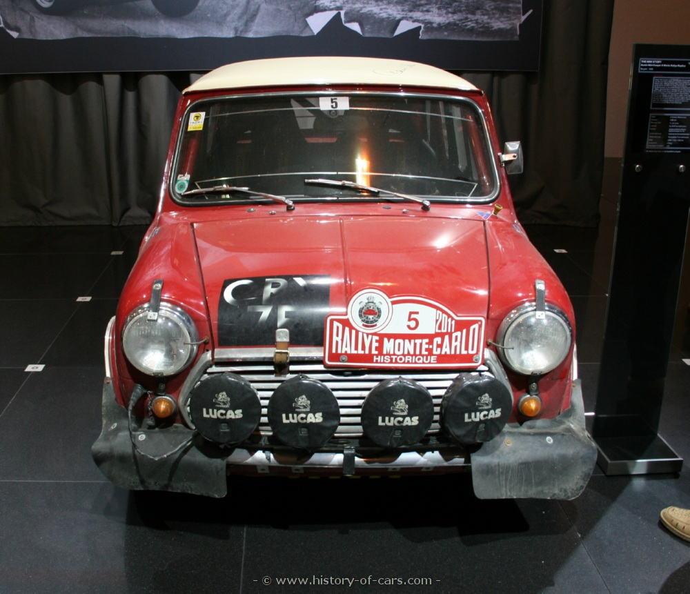 mini 1969 austin mini cooper s works rally - the history of cars ...