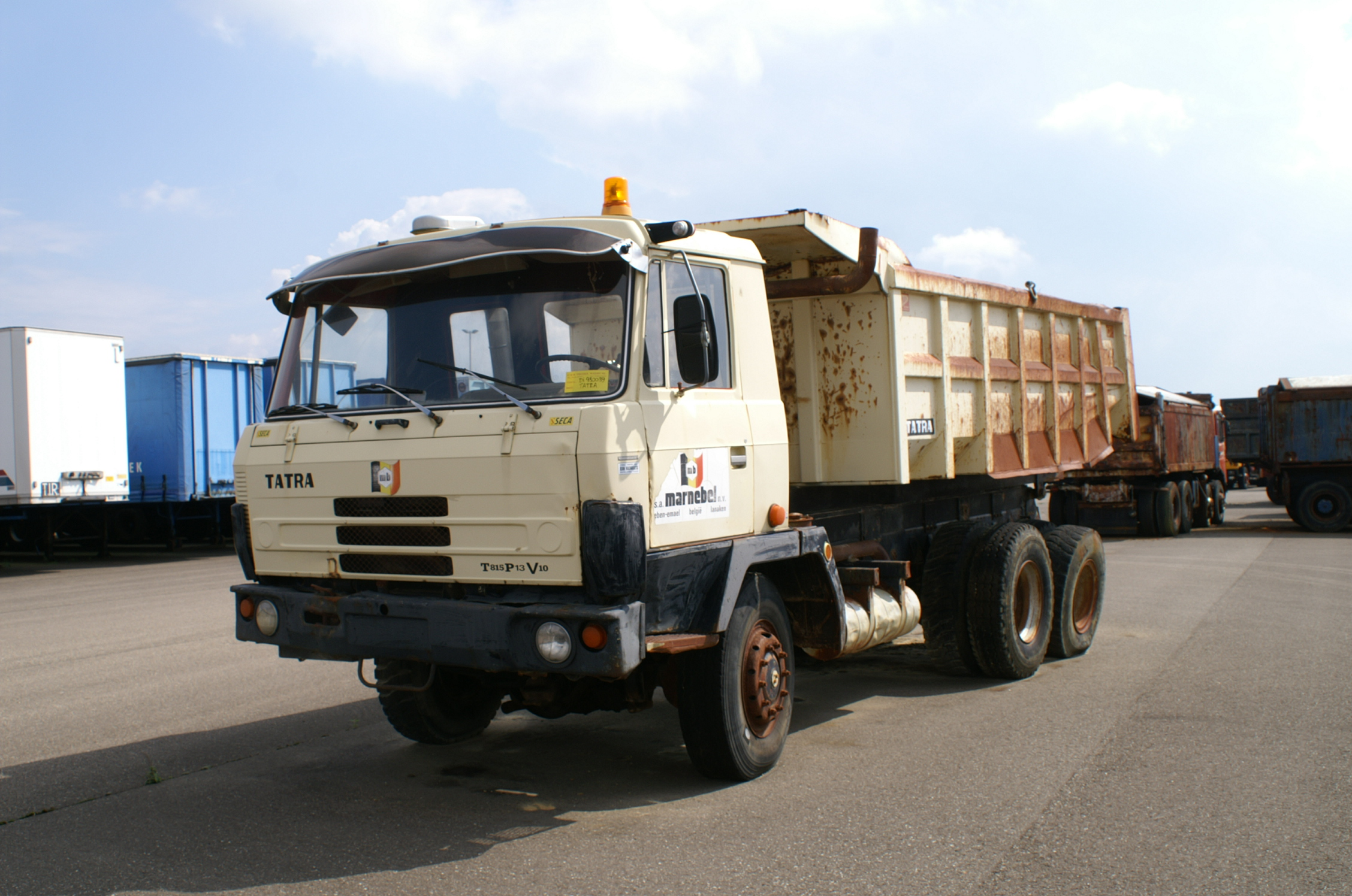 tatra t 815 p 13 marnebel cab Photo album by Mackf786