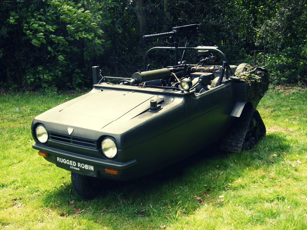Reliant Rugged Robin - Silodrome