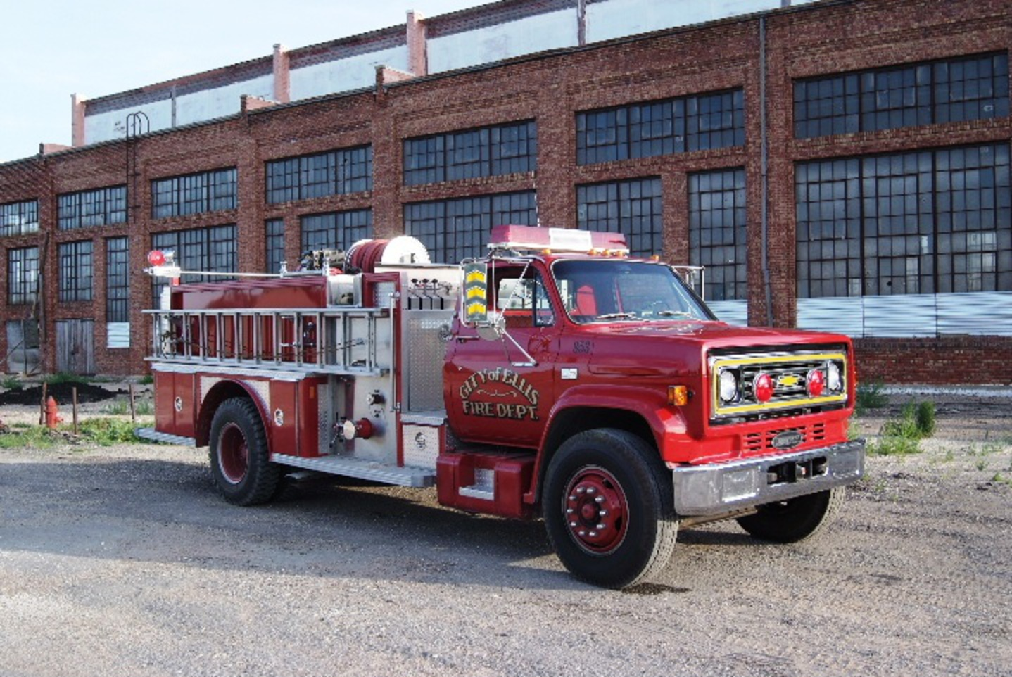 1928 LaFrance 1984 Chevrolet Fire Truck (For Sale - Contact 785-726-4812)