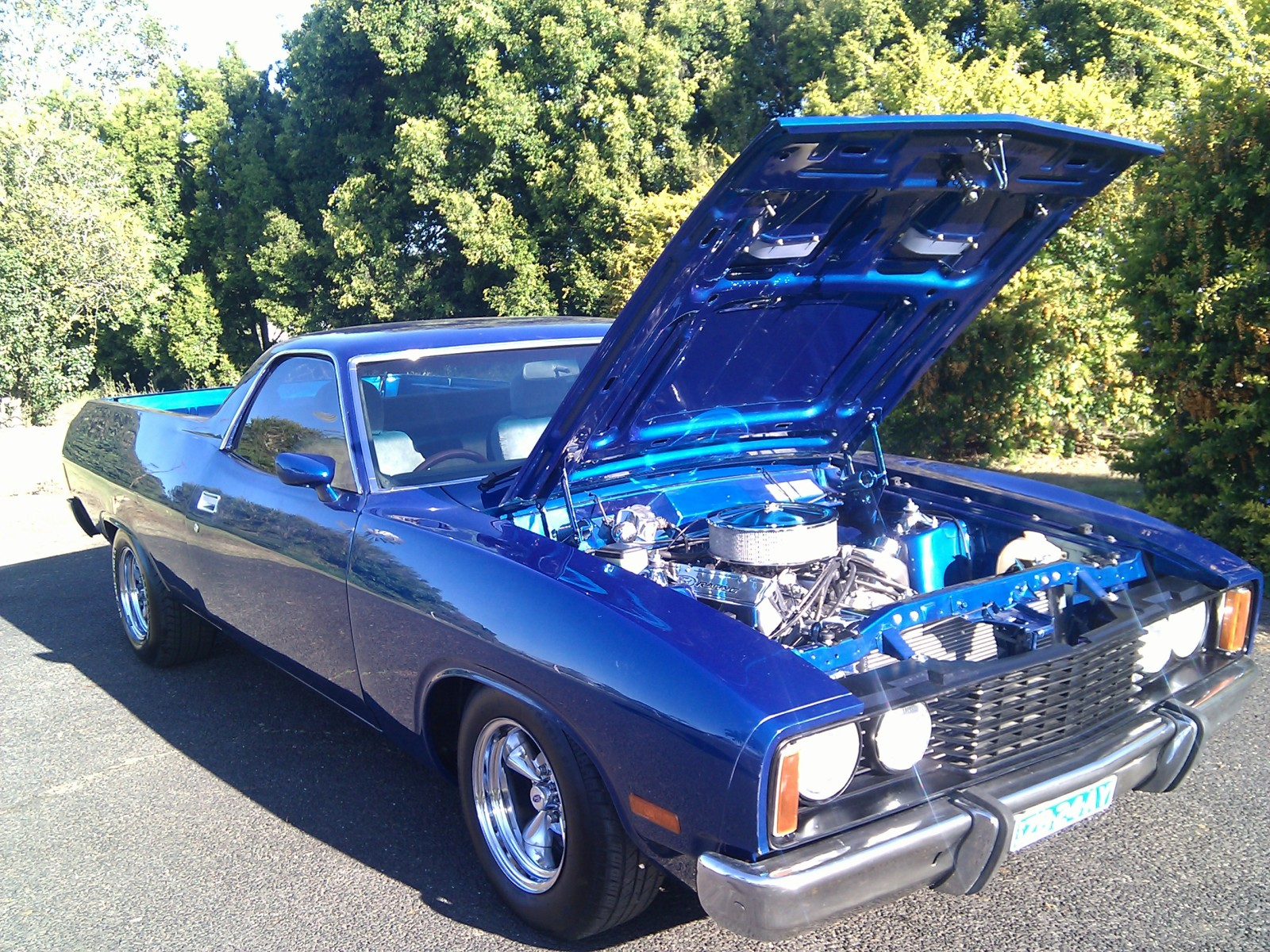 Selling a fully restored XC Ute muscle car