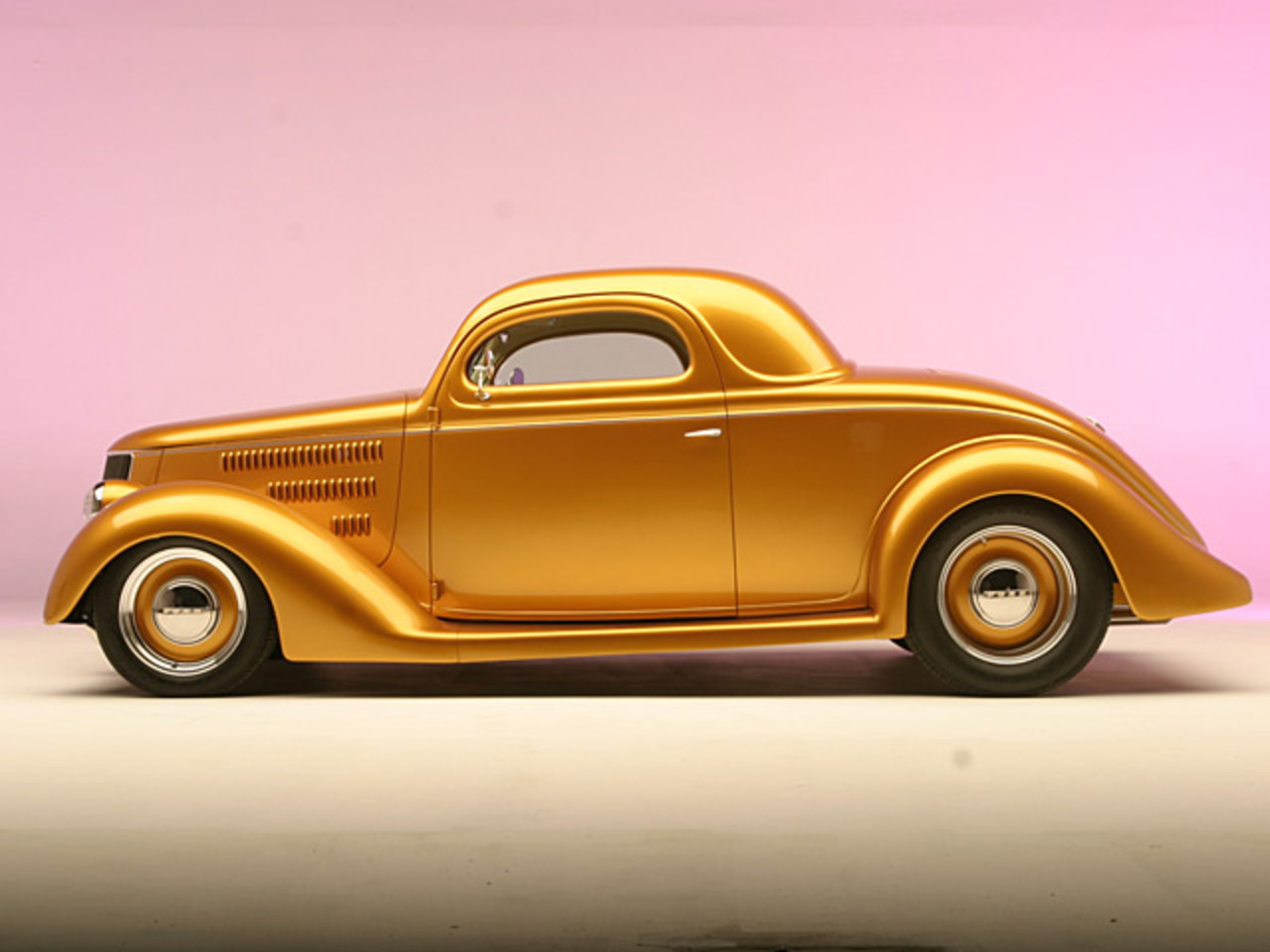 1936 Ford StreetRod (Built By Roy Brizio)