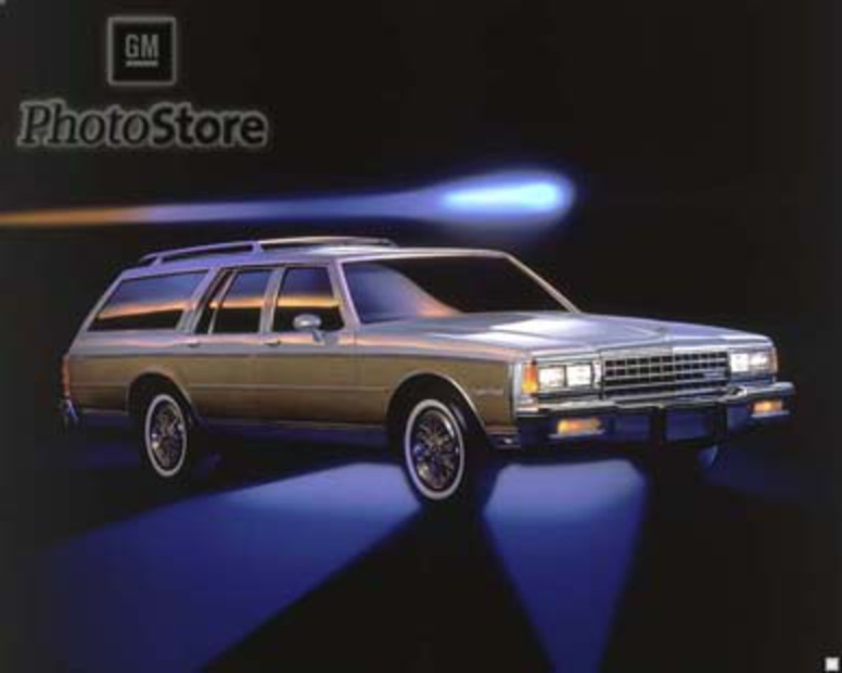 1985 Chevrolet Caprice Estate Wagon