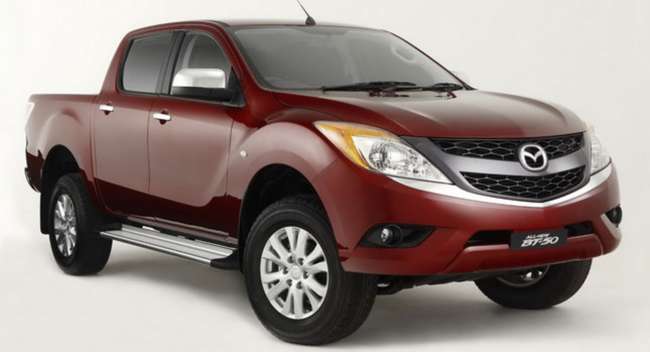 the first images of new 2011 Mazda Mazda BT-50 pick-up.