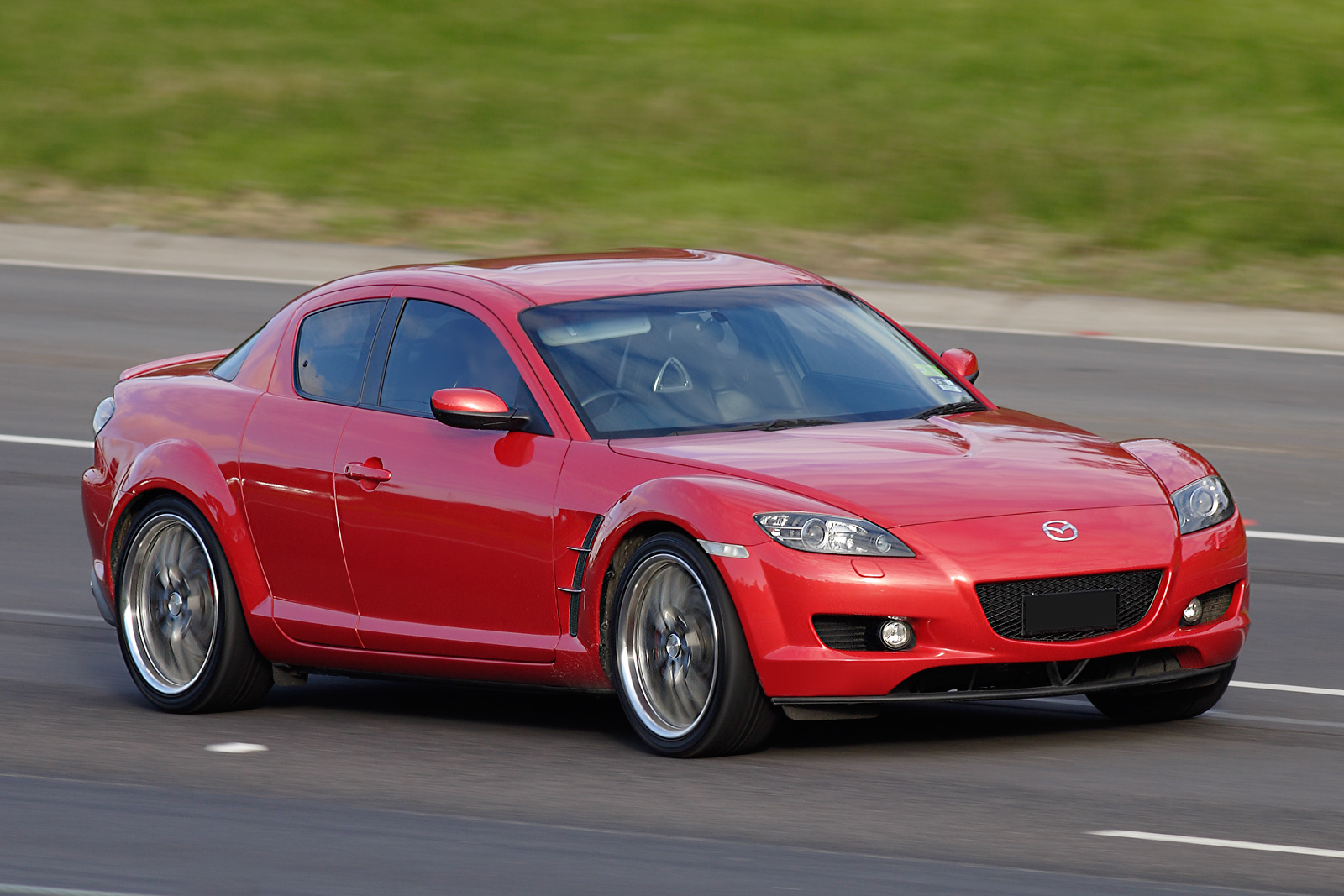 File:Mazda RX-8 on freeway.jpg