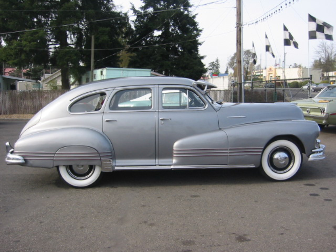 Topworldauto Photos Of Pontiac Streamliner Photo Galleries 1941 Silver Streak 1947 4 Door Fastback