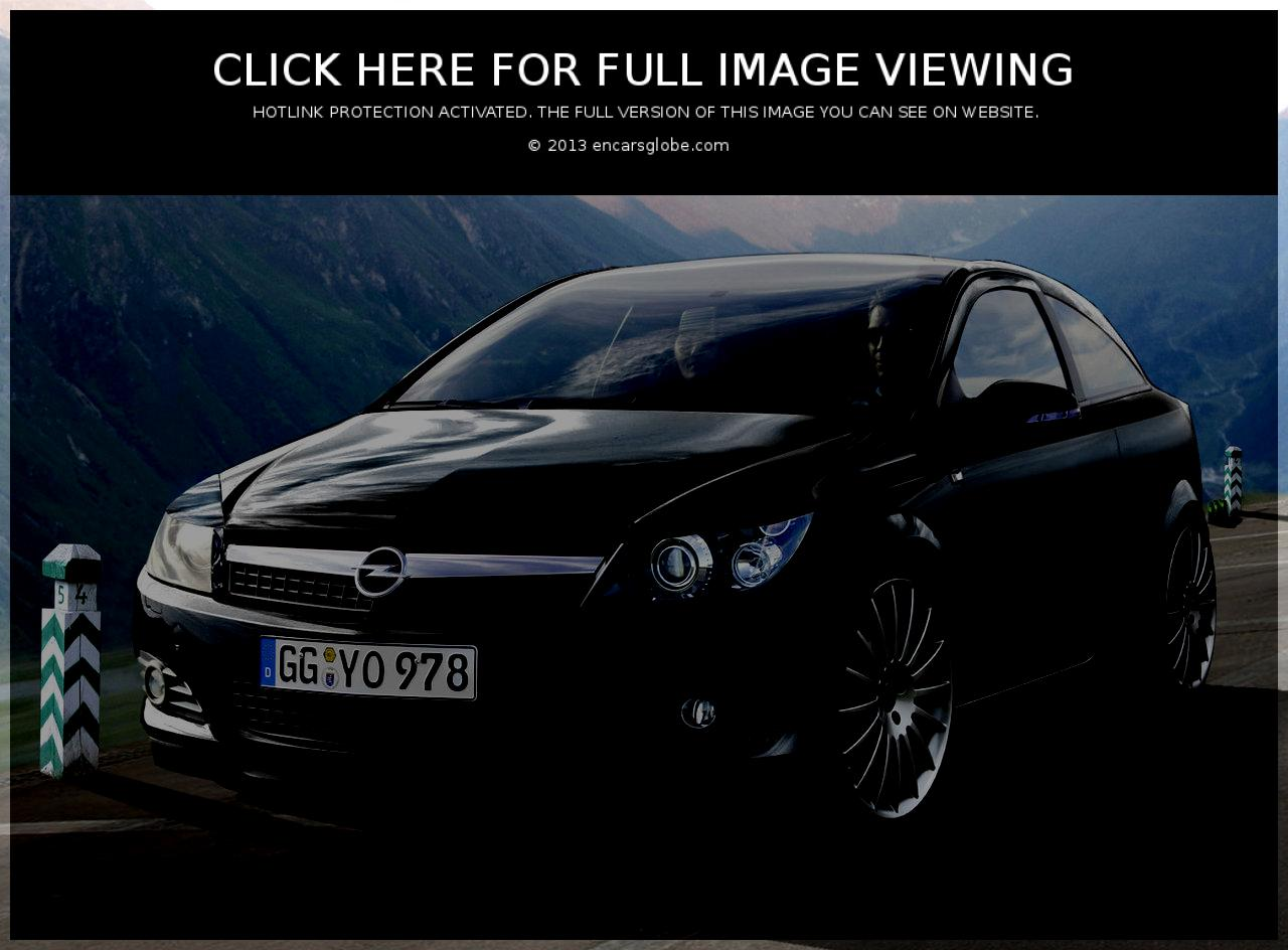206, Opel Astra Black edition