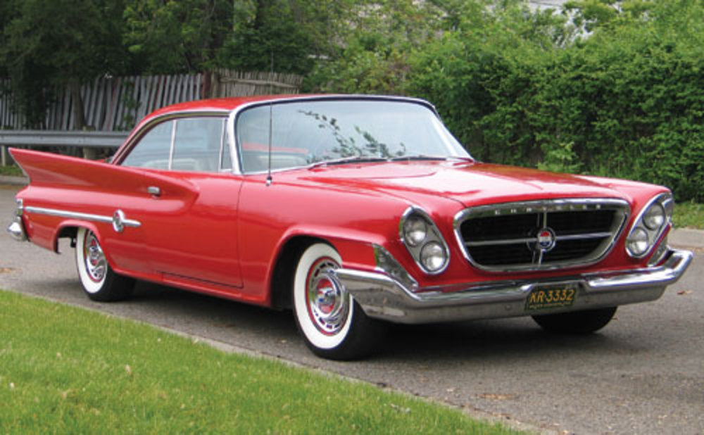 1961 Chrysler 300G Two-Door Hardtop. Sold for $44,000. Chassis no.