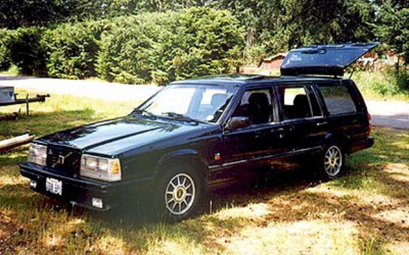 Volvo 740 Turbo wagon. View Download Wallpaper. 400x250. Comments