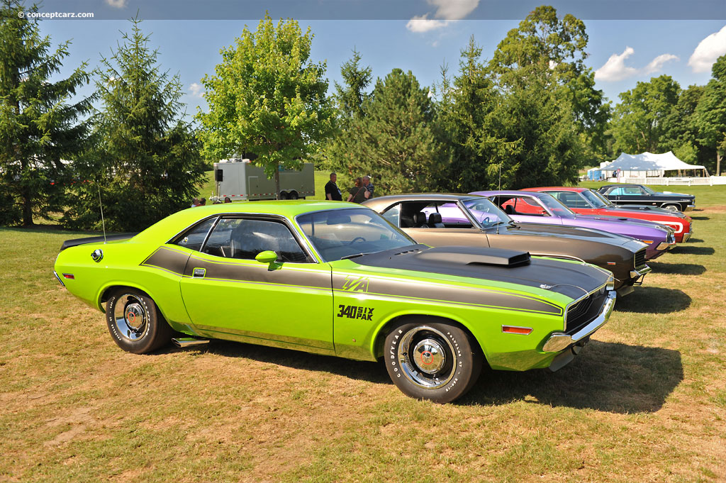 1970 Dodge Challenger Images, Information and History (R/T Series,