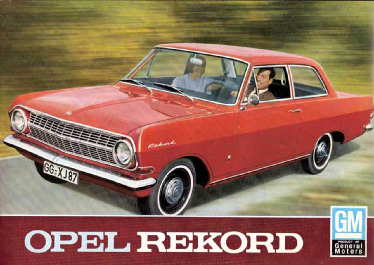 Toyota Of Olympia >> TopWorldAuto >> Photos of Opel Rekord 1500 - photo galleries
