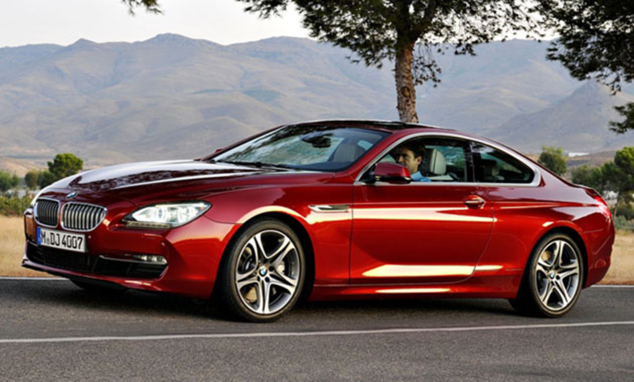 The shark has finally surfaced – the 2012 BMW 6 Series coupe has officially