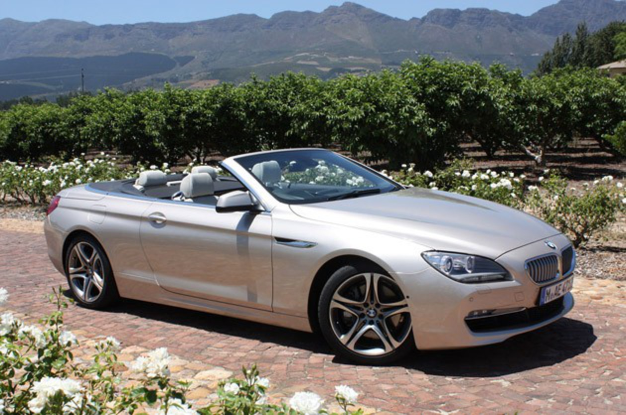 Frolicking Topless Under The African Sun In BMW's Latest Big GT