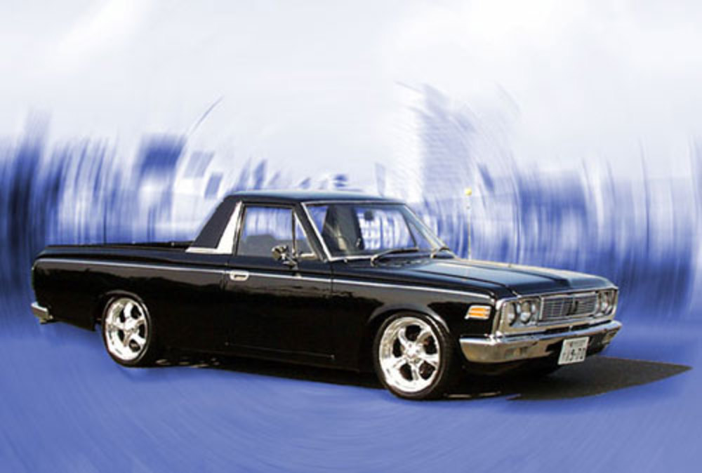 ANSWER: 1970 Toyota Crown pickup