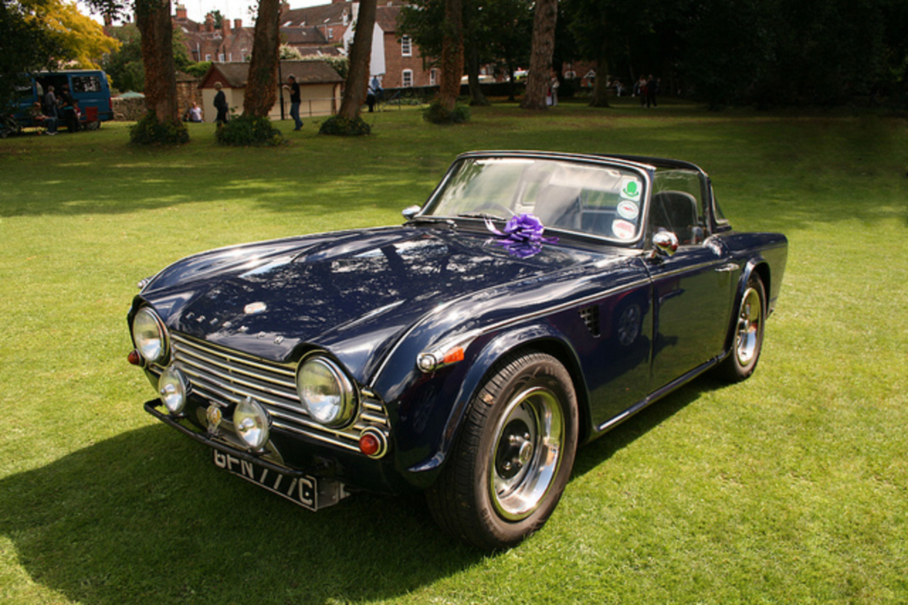 1965 Triumph TR4A | Flickr - Photo Sharing!