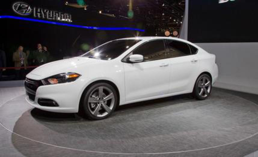 2013 Dodge Dart. Auto Shows