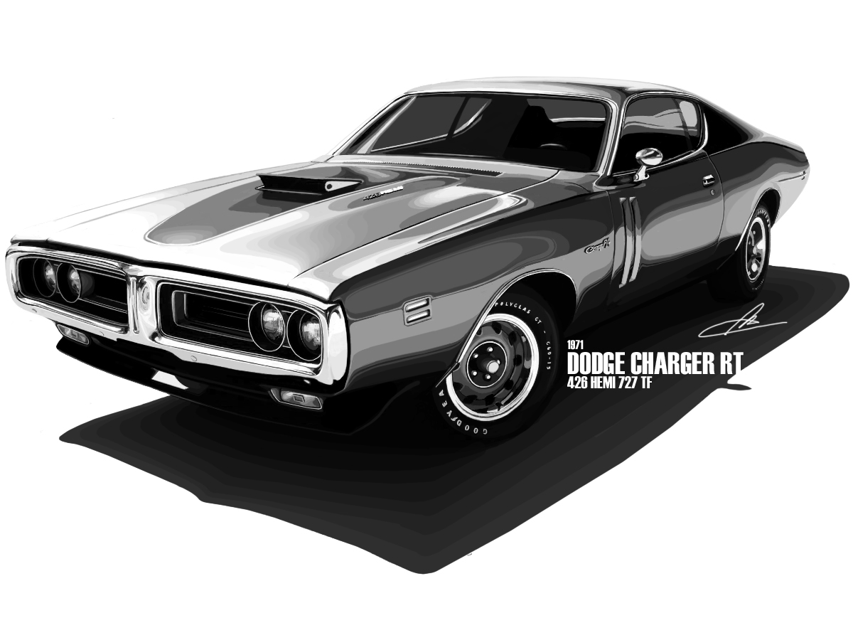 1971 Dodge Charger RT 426 Hemi by ~m-a-p-c on deviantART