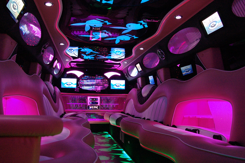 The Pink Hummer H2 Limo from Style Limos, Limo Hire in Manchester UK