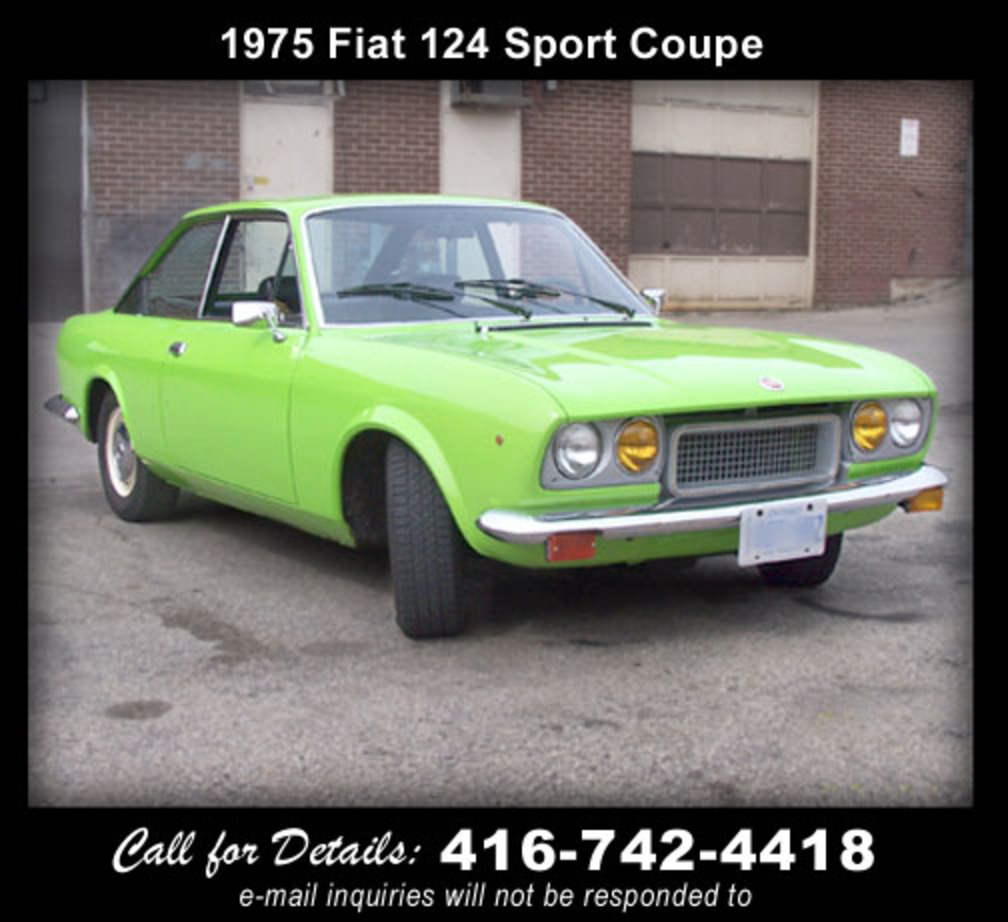 Topworldauto photos of fiat 124 sport coupe photo galleries - 1975 fiat 124 sport coupe ...
