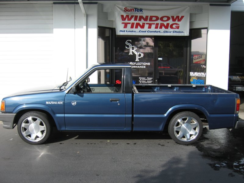 1989 Mazda B2200 4 cylinder 5-speed manual